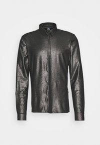 Twisted Tailor - SLEDGE SHIRT - Košile - black - 5