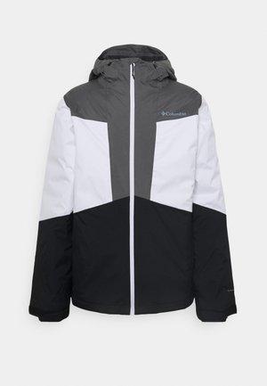 WALLOWA PARK™ INTERCHANGE JACKET - Outdoor jacket - black/city grey/white