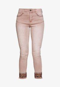 Desigual - AFRI - Skinny džíny - rosa palo - 4