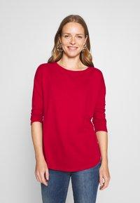 Q/S designed by - Maglietta a manica lunga - brick red - 0