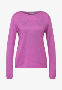 Street One - NORMAL FIT - Jumper - lila - 3