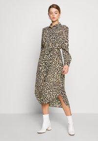 Great Plains London - CARA LEOPARD - Denní šaty - beige - 0