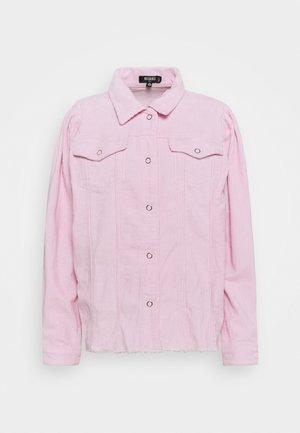 PUFF SLEEVE JACKET - Summer jacket - pink
