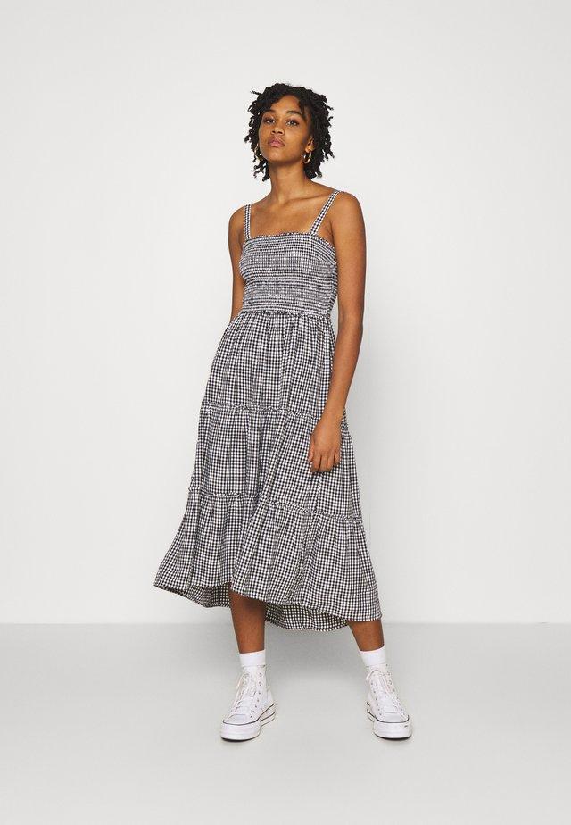 CHAIN DRESS - Korte jurk - black