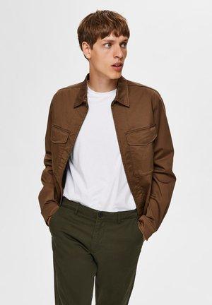 SLHADAM - Summer jacket - teak