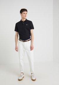 Barbour - TARTAN - Polo shirt - black/modern - 1