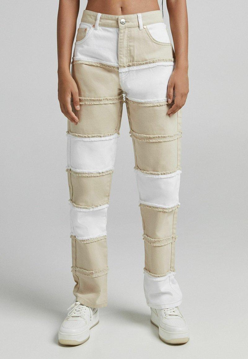 Bershka - Jeans straight leg - camel