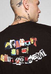 HUF - PRODUCT TEE - Print T-shirt - black - 3