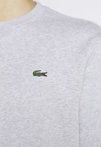 Lacoste - Sweatshirt - silver chine/elephant grey - 4