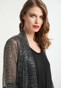 faina - Summer jacket - schwarz silber - 3