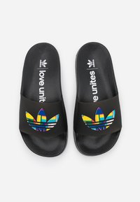 adidas Originals - ADILETTE LITE PRIDE - Pool slides - core black - 3
