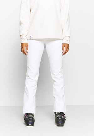 ENTIAT - Snow pants - optic white