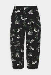 Vero Moda Petite - VMSAGA CULOTTE PANT  - Bukse - black/nellie - 0