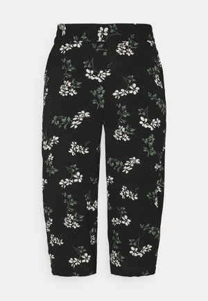 VMSAGA CULOTTE PANT  - Trousers - black/nellie