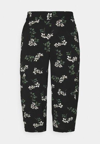 VMSAGA CULOTTE PANT  - Pantaloni - black/nellie