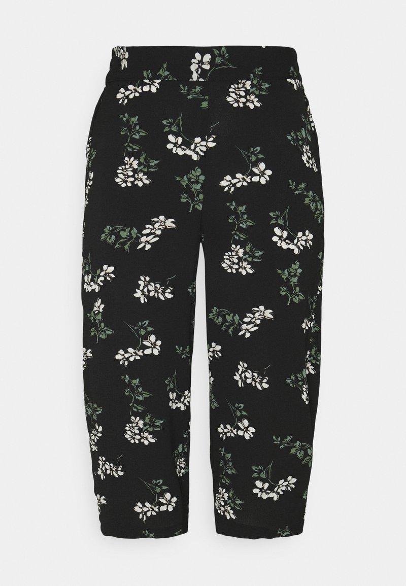 Vero Moda Petite - VMSAGA CULOTTE PANT  - Bukse - black/nellie