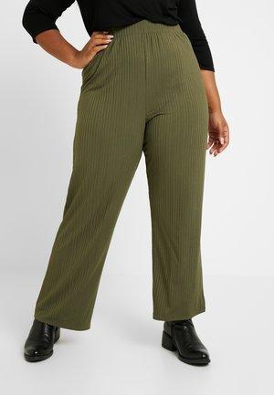 TROUSER - Kalhoty - khaki