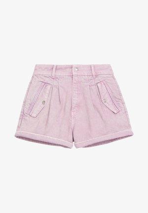 Denim shorts - light purple