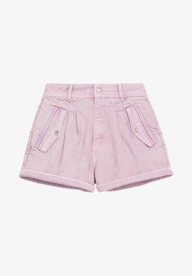 Szorty jeansowe - light purple