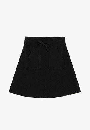 PALITA - A-line skirt - svart