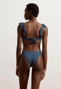 OYSHO - Bikini bottoms - dark blue - 3