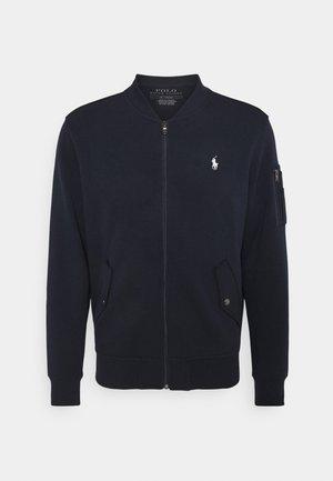 LONG SLEEVE - Zip-up sweatshirt - aviator navy