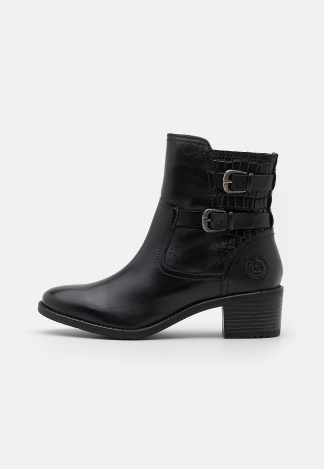 RUBY - Cowboy/biker ankle boot - black