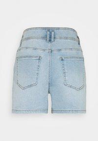 JDY - JDYCARMEN LIFE POCKET - Denim shorts - light blue denim - 7