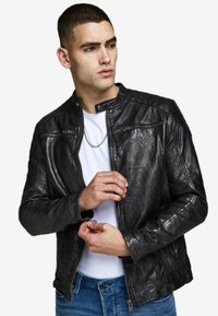 Jack & Jones - Nahkatakki - black - 2