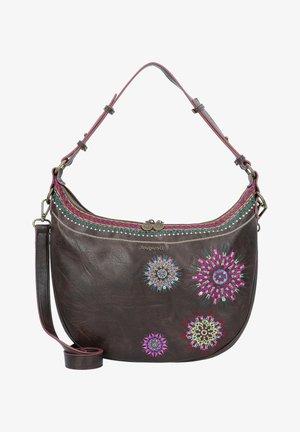 Handbag - marron oscuro