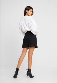 mint&berry - A-line skirt - white/black - 2