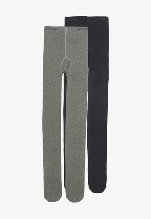2 PACK - Tights - grey/marine