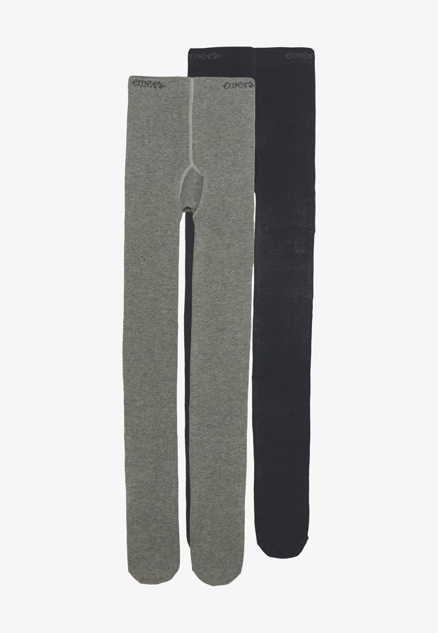 2 PACK - Collant - grey/marine