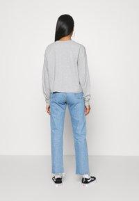 Jordan - ESSENTIAL BOXY TEE - Long sleeved top - dark grey heather - 2