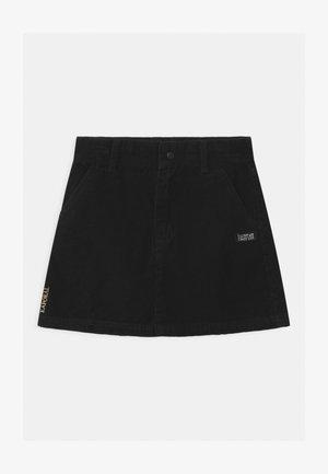 MELO - Mini skirt - black