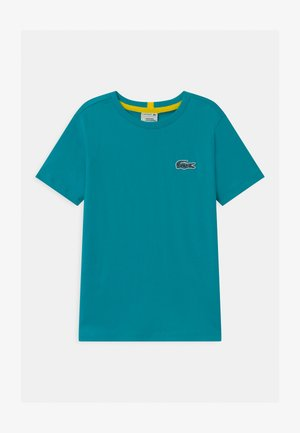NATIONAL GEOGRAPHIC X LACOSTE - Basic T-shirt - turquoise