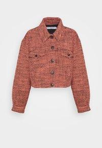 VEDE JACKET - Light jacket - pink/black