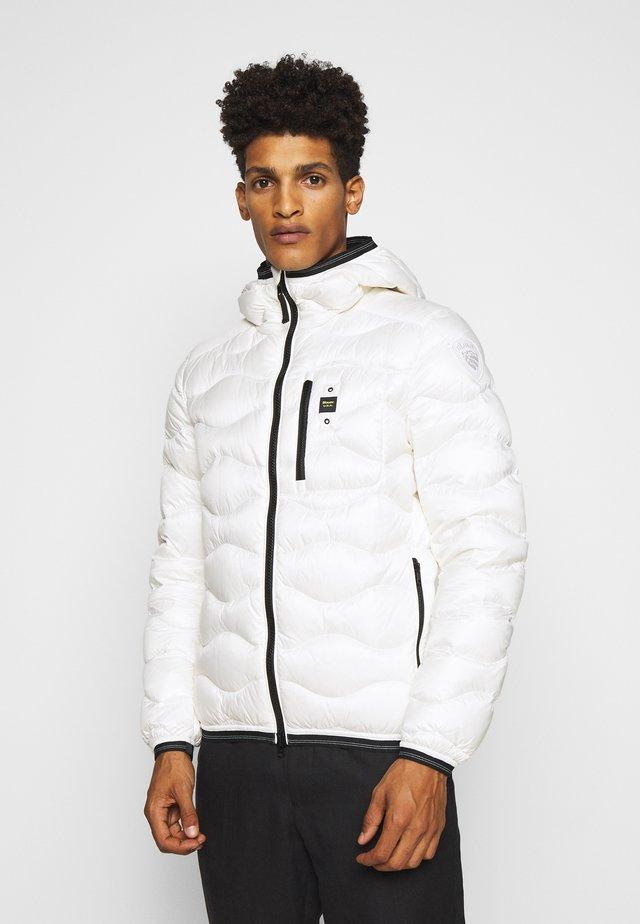 GIUBBINI CORTI IMBOTTITO - Down jacket - white