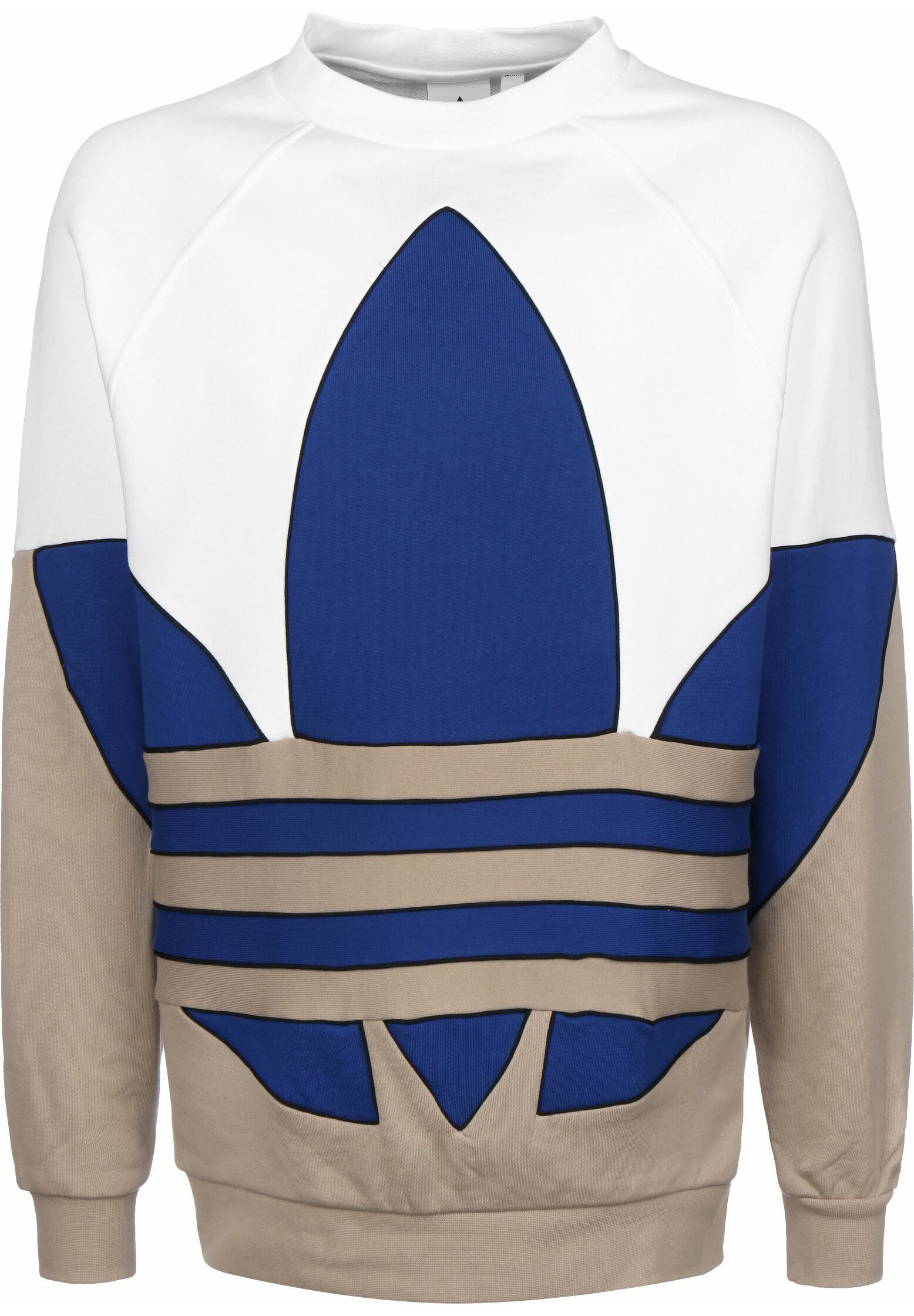 adidas Originals TREFOIL Sweatshirt white Zalando.at