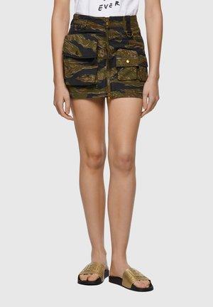A-line skirt - military green
