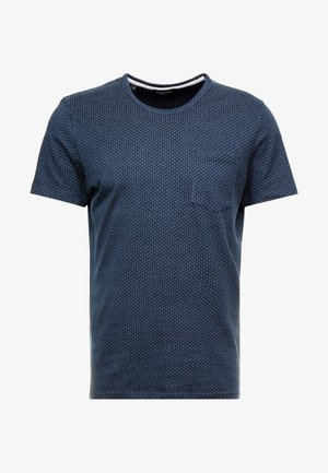 SLHMUTE - Print T-shirt - dark sapphire