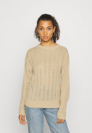 VIDAISY - Jumper - natural melange