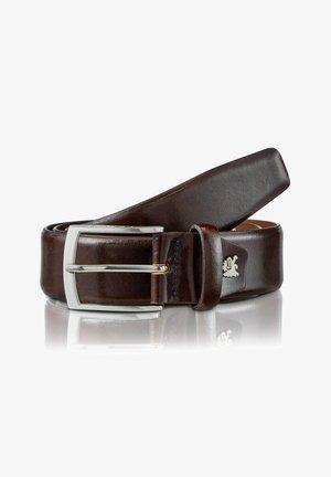 CITYBELT *TEXAS* - Belt business - dark brown