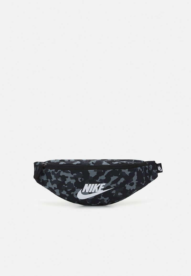 Nike Sportswear - HERITAGE HIP UNISEX - Bum bag - black/white