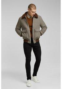 Esprit - Trousers - black rinse - 1