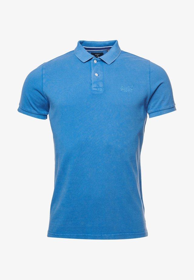 Poloshirt - heraldic blue