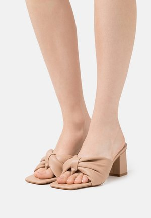 KYOTO - T-bar sandals - nude