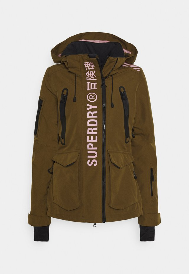 ULTIMATE RESCUE JACKET - Ski jacket - dusty olive