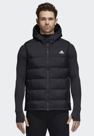 HELIONIC HOODED DOWN VEST - Liivi - black