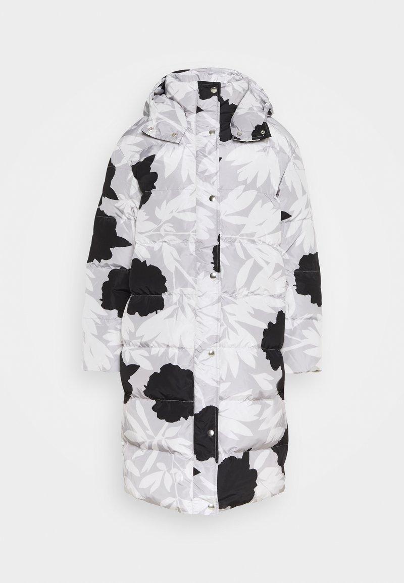 Marimekko - TURVASSA PIONIPENSAS COAT - Kabát zprachového peří - grey